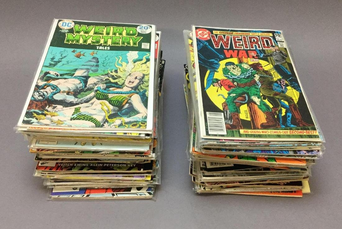 Over 150- DC Assorted Bronze and Copper Age Comic Books