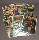 TenIron Man Silver and Bronze Age Comics