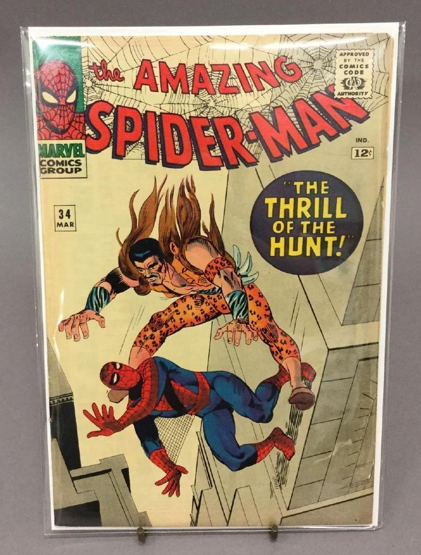 Three Amazing Spiderman #22, #34, #36