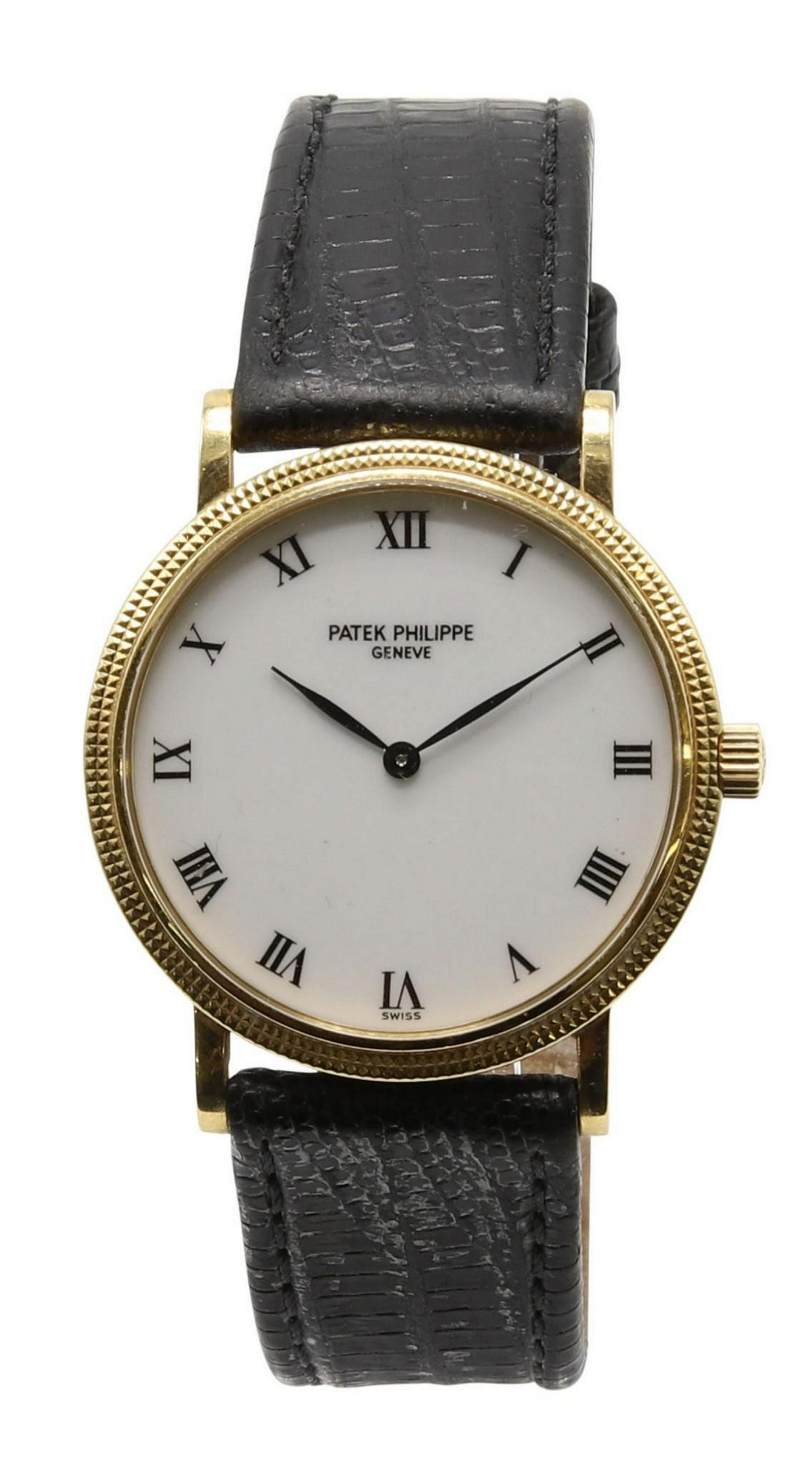 Patek Philippe Calatrava 18K Gold Wrist Watch