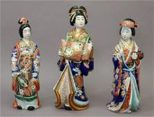 Japanese Imari Porcelain Figures