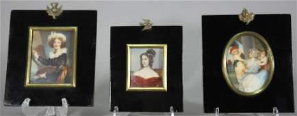 Miniature Portrait Grouping