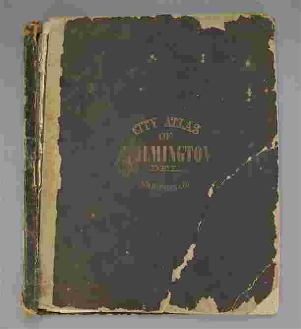 Wilmington Delaware Atlas-1876