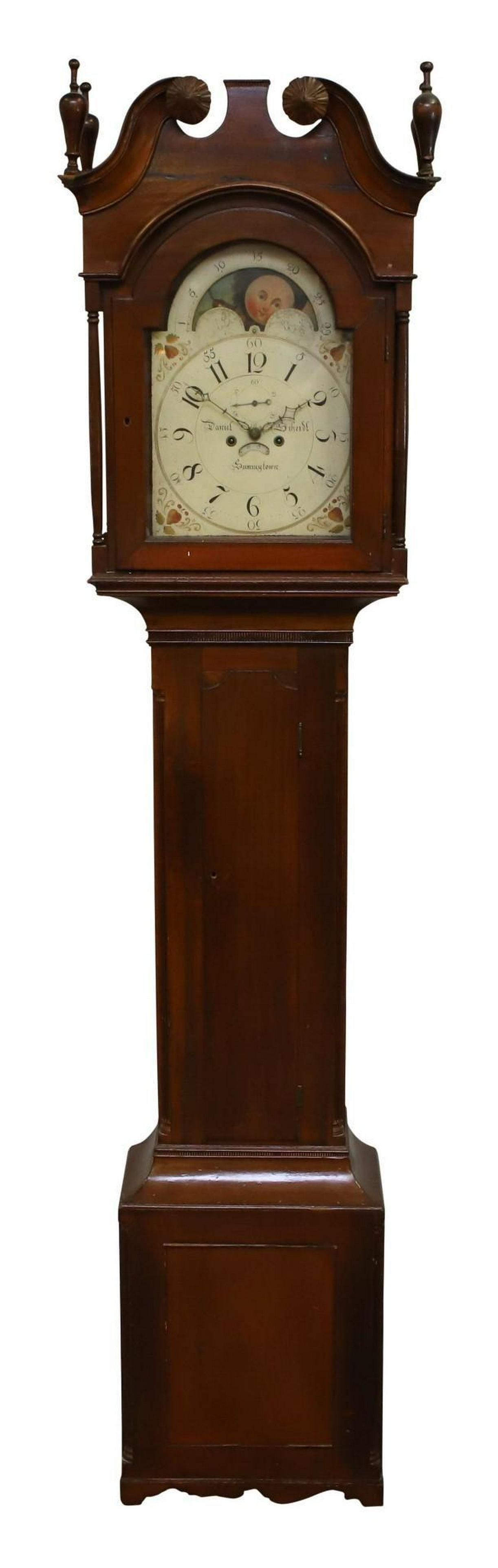 Daniel Scheidt Sumneytown, PA Tall Case Clock