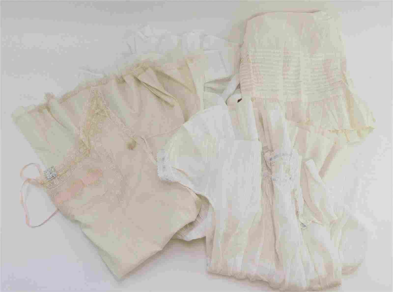"LOT OF ANTIQUE LADIES""/CHILDREN'S CLOTHING."