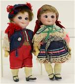 ANTIQUE GOOGLY DOLL(S).