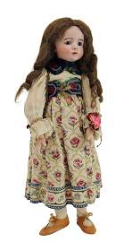 ANTIQUE FRENCH BISQUE DOLL.