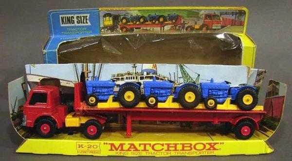 5002: Matchbox K-20 King Size Tractor Transporter