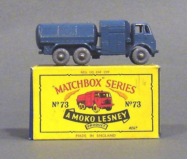5012: Matchbox #73 RAF Pressure Refueler, Gray Wheels