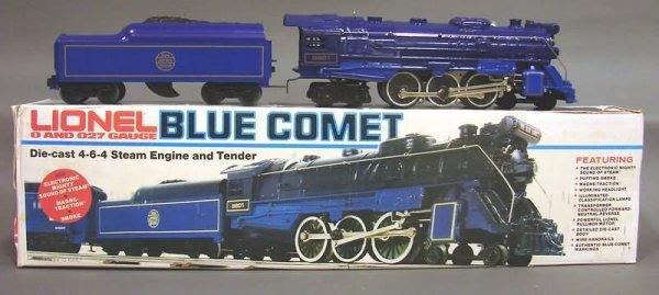 5016: Lionel 7-piece Blue Comet Set, OB