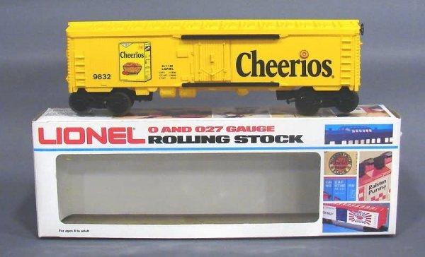 5022: Lionel 9832 Cheerios Reefer, OB
