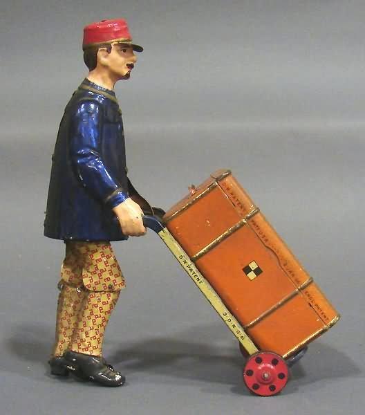 5023: Lehmann Adam the Porter Wind-Up Toy