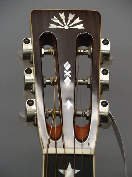 "5512: Washburn ""1892"" Re-Issue Parlor Guitar - 4"