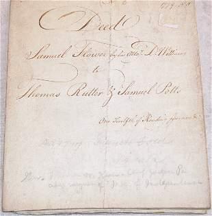Autograph of Thomas McKean.
