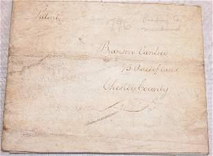Autograph of Thomas Mifflin.