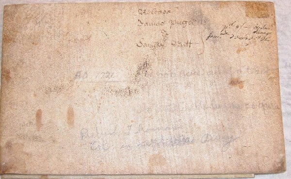 6: Early 18th Century Indenture-Chester County PA.