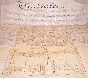 18th Century Indenture-Philadelphia