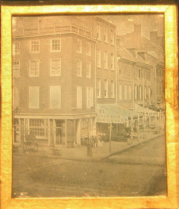 49: Outdoor Philadelphia Daguerreotype-Attributed to Wi