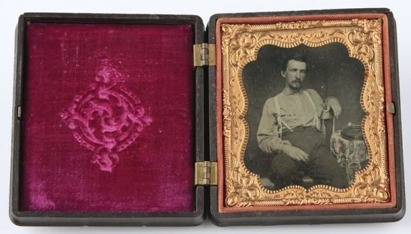 1003: Ambrotype of Civil War Soldier