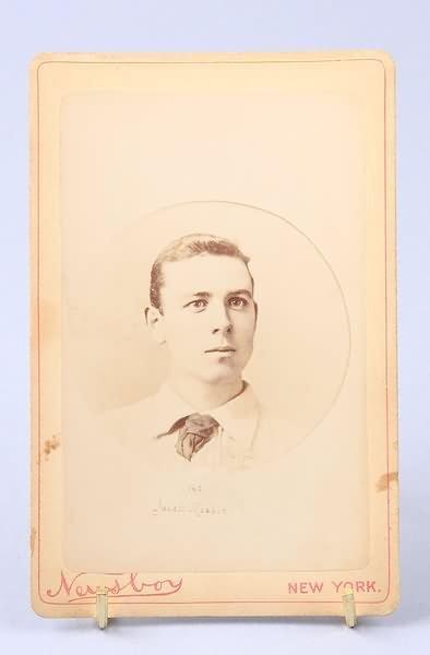 1238: Cabinet Card of Baseball Plyr Geo. Jouett Meekin