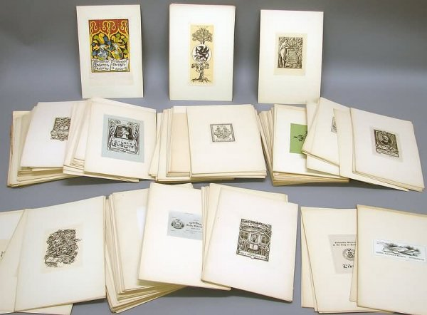 2011: Large Bookplate Collection