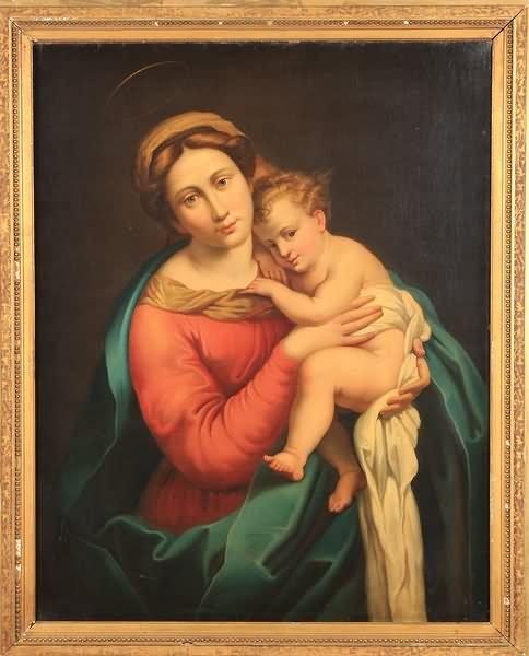 3002: 19th Century Madonna and Child