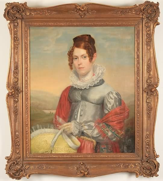 3004: 19th Century Portrait of a Young Lady