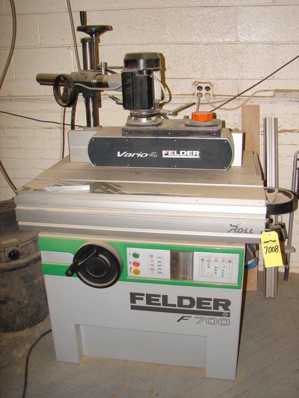 7008: Felder F700Z Shaper with Feeder