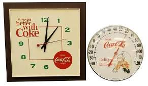 Coca-Cola Advertising Clocks