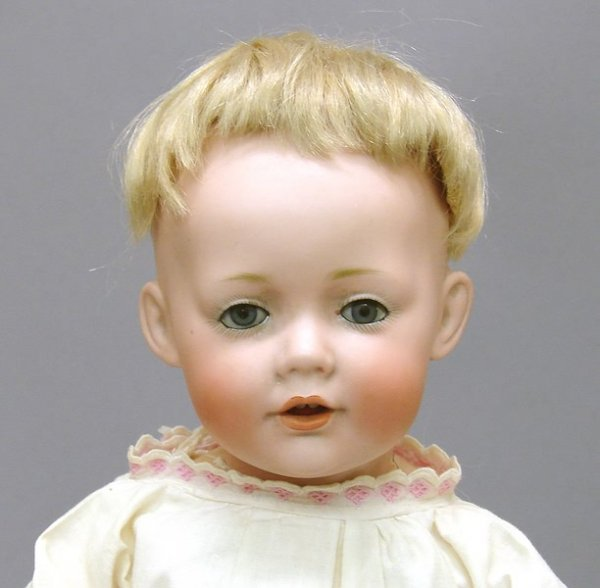 """1003: German Bisque, 11"""" 7 JDK 237 Character Baby Doll"""