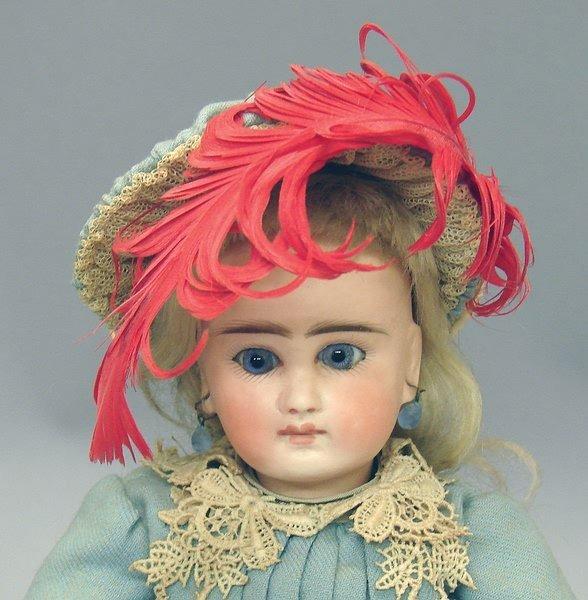 """1004: German Bisque, 11.5"""" 50-2 Belton-type Doll"""
