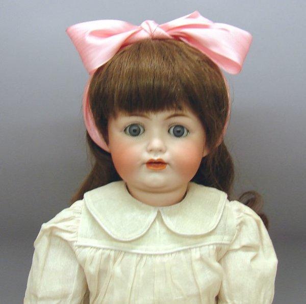 """1010: German Bisque, 19"""" JDK 260 Doll"""