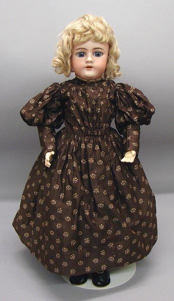 "1011: German Bisque,20"" 11 1/2 99 DEP HANDWERCK 3 Doll"