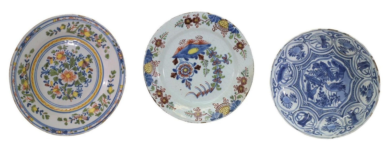 Polychrome Plate Grouping
