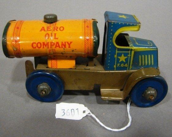 3601: Marx C-Cab Mack Aero Oil Co. friction tanker