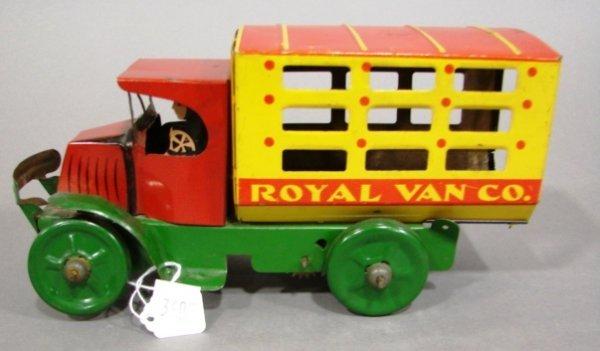 3605: Marx C-Cab Mack Royal Van Co. wind-up truck