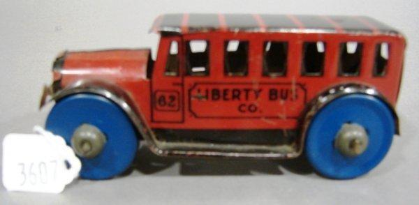 3607: Marx Liberty Bus Company friction bus