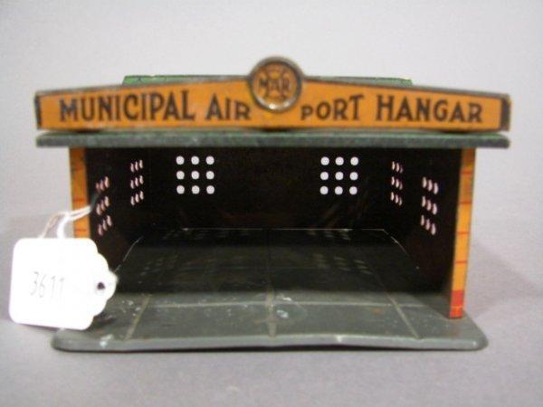 3611: Marx Municipal Airport Hanger building