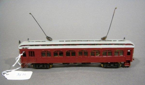 3615: HO Scale Suydam Brass Trolley