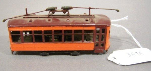 3616: HO Scale Ken Kidder? Brass Trolley