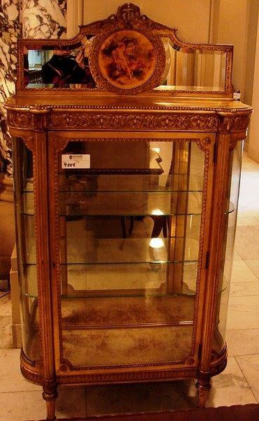 4004: Louis XV style vitrine