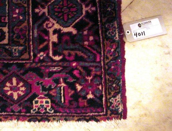4011: Heriz palace carpet
