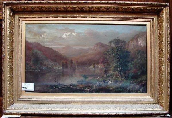 4022: H.W. Kemper oil painting