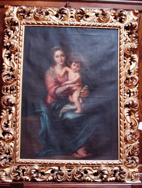 4024: T. Olivito oil painting