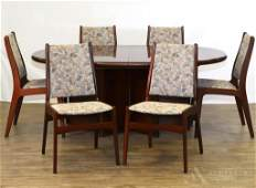 Ansager Mobler Danish Mahogany Dining Suite