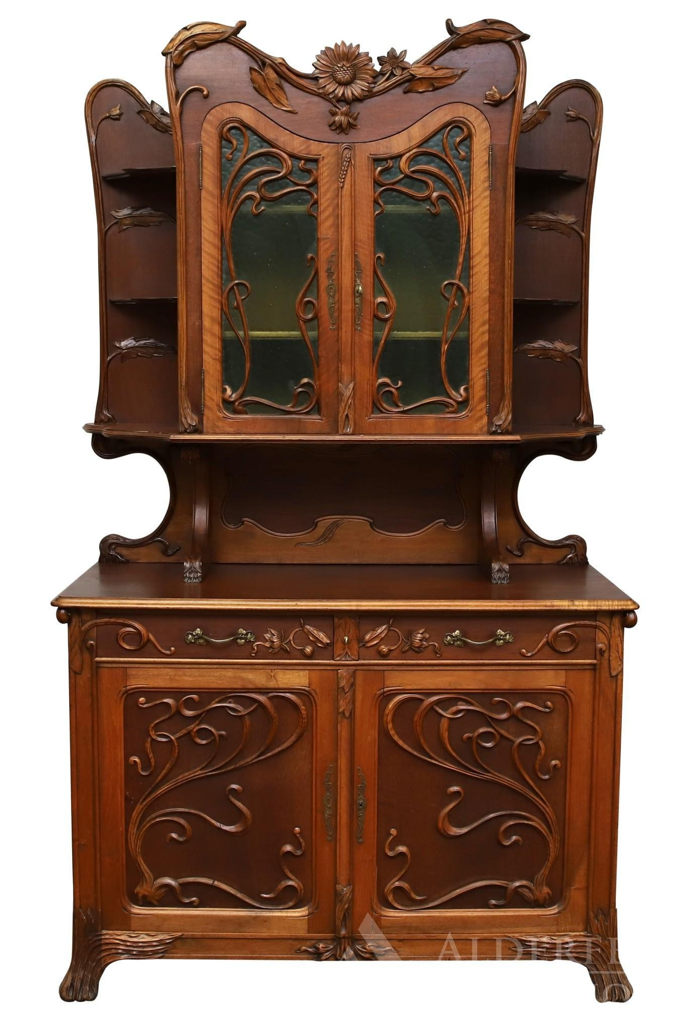 French Art Nouveau Sideboard