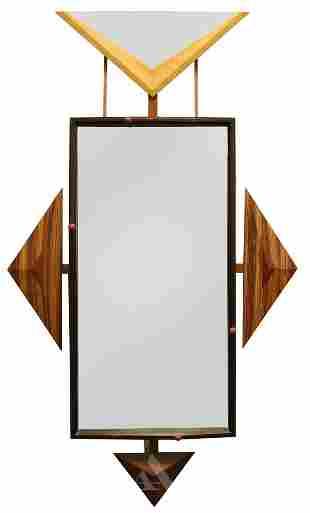 Memphis Influenced Studio Designed Wall Mirror