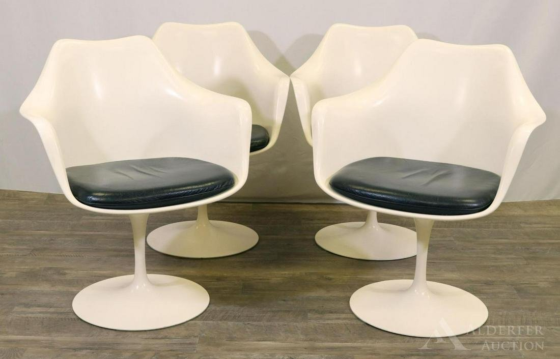 Eero Saarinen for Knoll Set of Tulip Arm Chairs