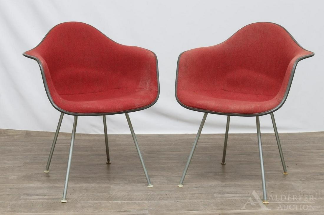 Charles Eames for Herman Miller Fiberglass Chairs