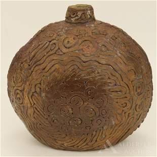 Coil Form Studio Pottery Vase